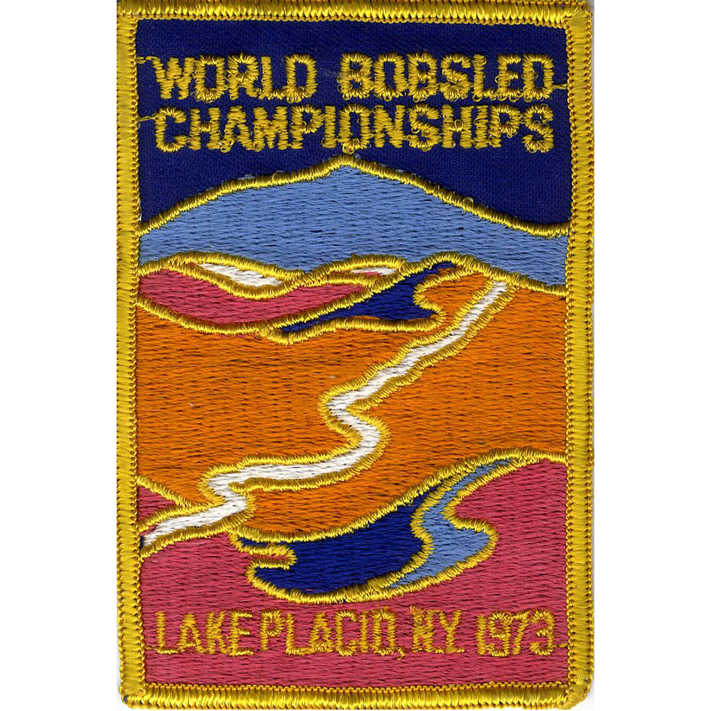 1973 World Championship patch