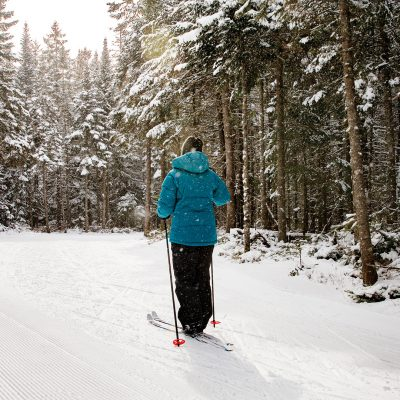 Cross Country Skiing at Mt. Van Hoevenberg