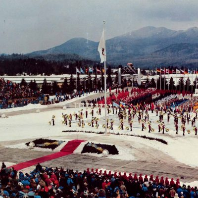 Opening ceremony of 1980 Olympics