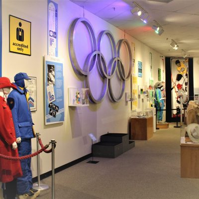 Olympic Museum Totally 80s Exhibit
